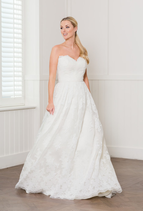 Brooklyn Wedding                                          dress by Augusta Jones
