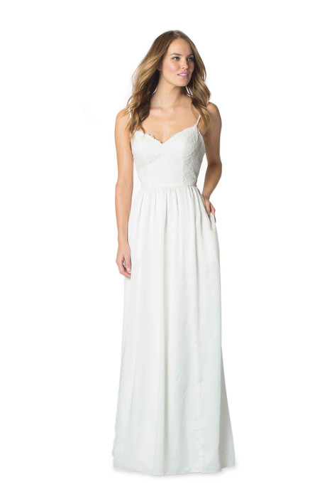 2056 Bridesmaids                                      dress by Bari Jay : White
