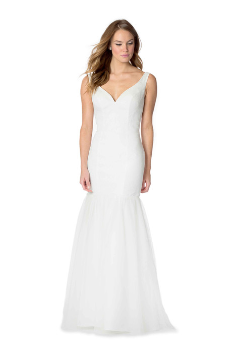 2057 Bridesmaids                                      dress by Bari Jay : White