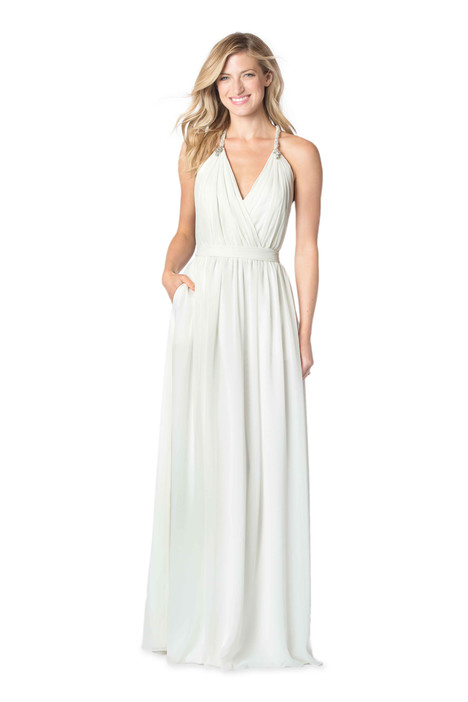 2058 Bridesmaids                                      dress by Bari Jay : White