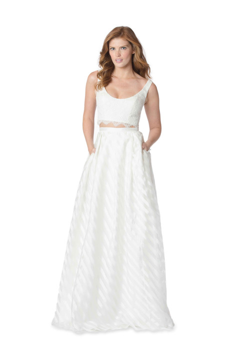 2059 Bridesmaids                                      dress by Bari Jay : White