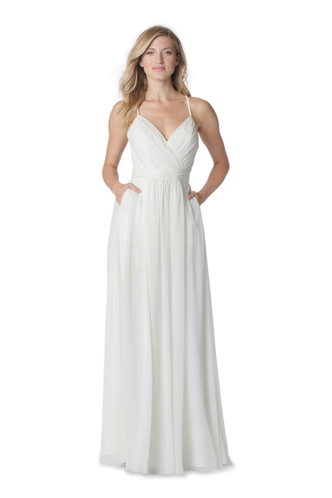 2060 Bridesmaids                                      dress by Bari Jay : White