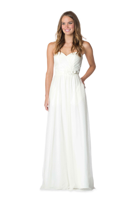 2061 Bridesmaids                                      dress by Bari Jay : White