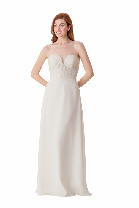 2065 Bridesmaids                                      dress by Bari Jay : White
