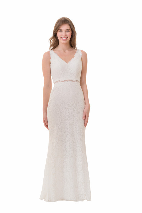 2066 Bridesmaids                                      dress by Bari Jay : White