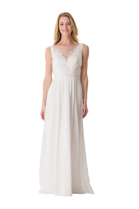 2067 Bridesmaids                                      dress by Bari Jay : White
