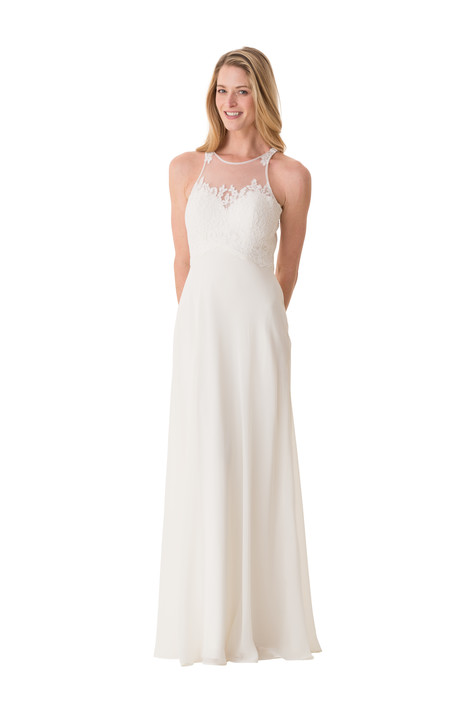 2068 Bridesmaids                                      dress by Bari Jay : White