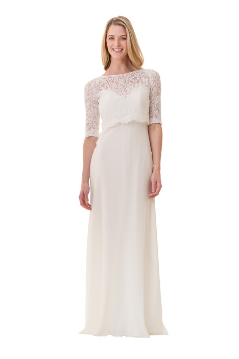2073 Bridesmaids                                      dress by Bari Jay : White