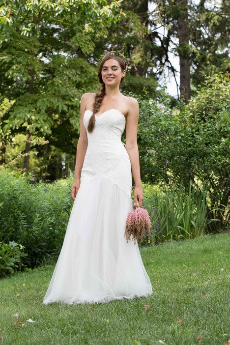 2076 Bridesmaids                                      dress by Bari Jay : White