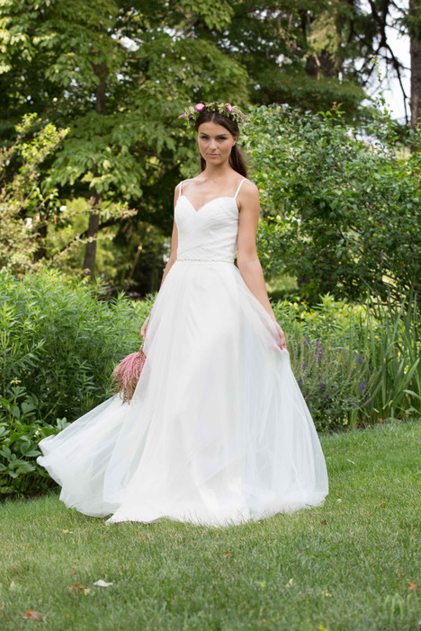 2077 Bridesmaids                                      dress by Bari Jay : White