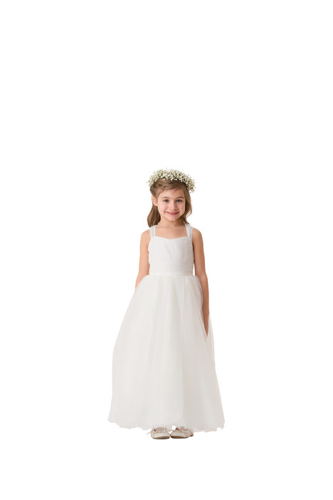 F5516 Flower Girl                                      dress by Bari Jay: Flower Girls