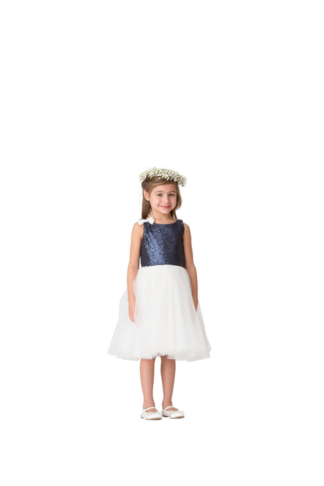F5616 Flower Girl                                      dress by Bari Jay: Flower Girls