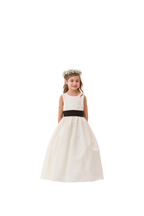 F5816 Flower Girl                                      dress by Bari Jay : Flower Girls