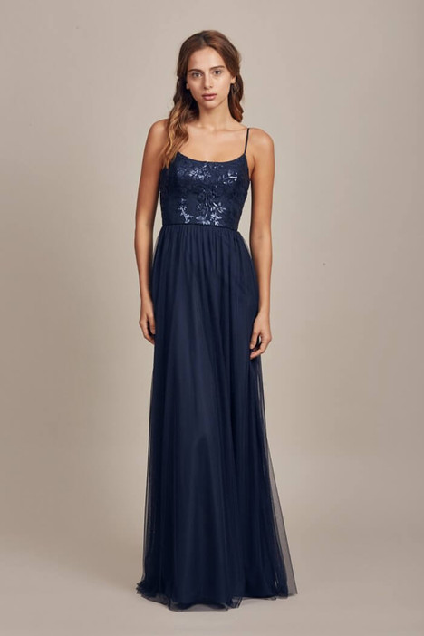 Stephanie (GB014) (navy) Bridesmaids                                      dress by Amsale : Bridesmaids