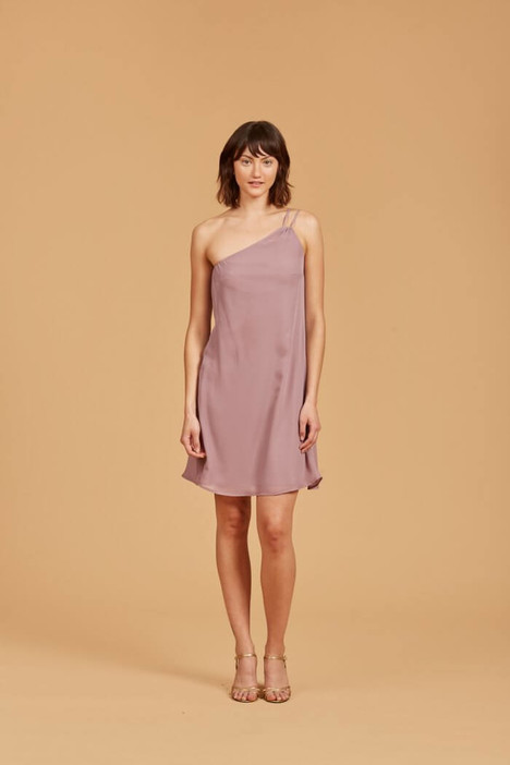Harla (N353) (mauve) Bridesmaids                                      dress by Amsale Nouvelle : Bridesmaids