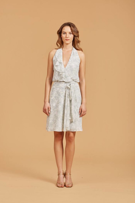 Patricia (NA360) (cloud) Bridesmaids                                      dress by Amsale Nouvelle : Bridesmaids