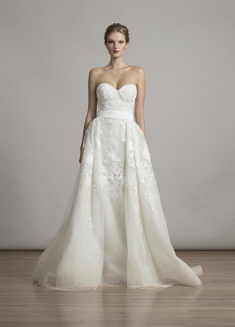 6865 (+ over skirt) Wedding                                          dress by Liancarlo