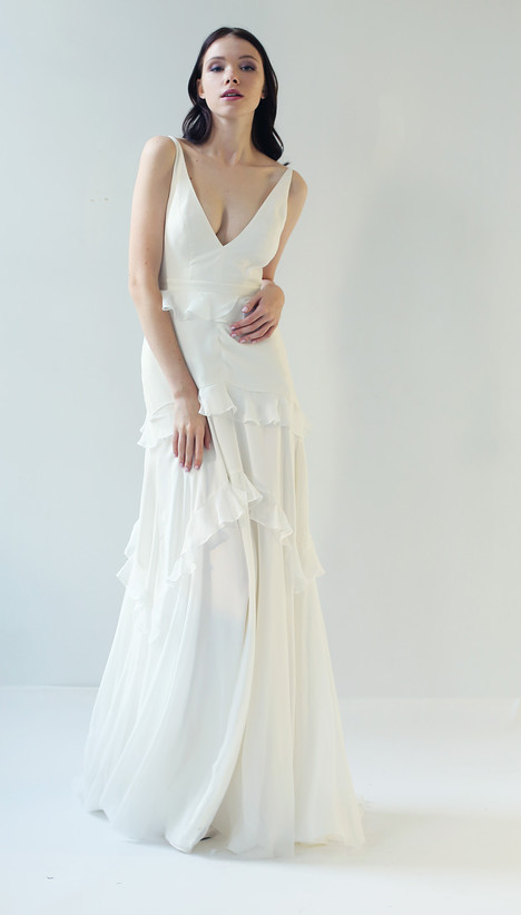 Antonie Wedding                                          dress by Leanne Marshall