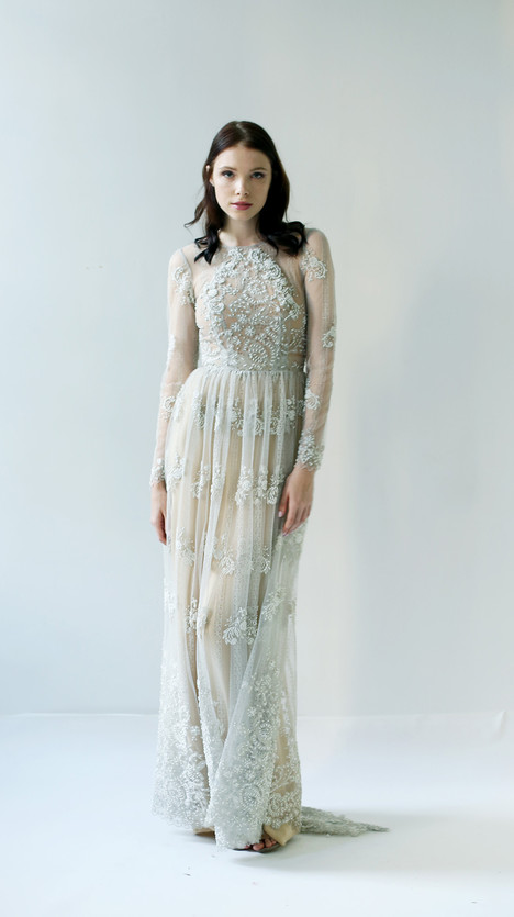 Granderson Wedding                                          dress by Leanne Marshall