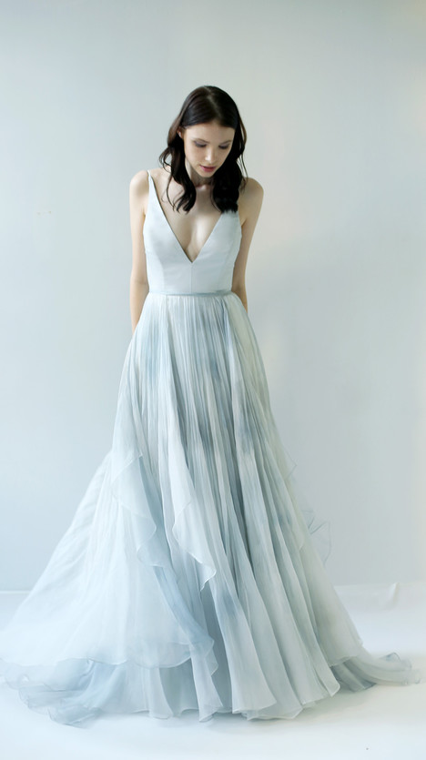 Raincloud Wedding dress by Leanne Marshall