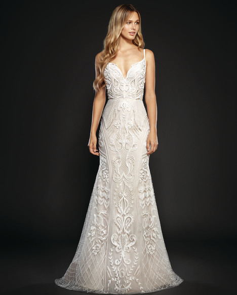Maverick (6706) gown from the 2017 Hayley Paige collection, as seen on dressfinder.ca