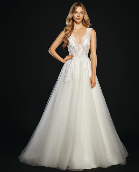 Winnie (6707) (3) gown from the 2017 Hayley Paige collection, as seen on dressfinder.ca