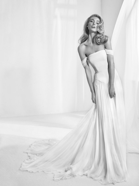 Rabat Wedding                                          dress by Pronovias Atelier