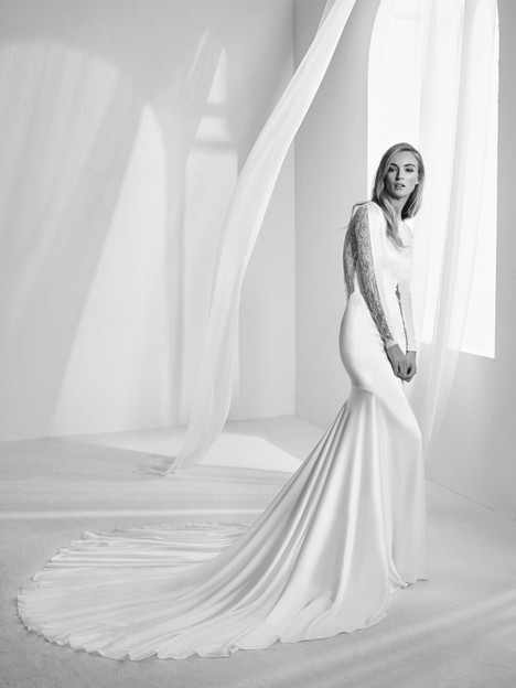 Rachel Wedding                                          dress by Pronovias Atelier
