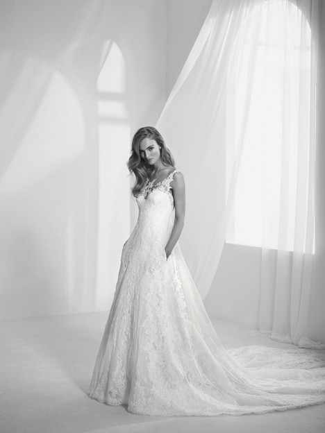 Radila Wedding                                          dress by Pronovias Atelier