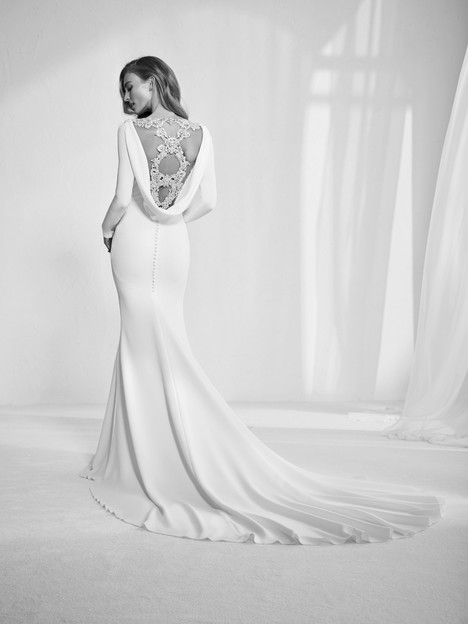 Radley (back) gown from the 2018 Pronovias Atelier collection, as seen on dressfinder.ca