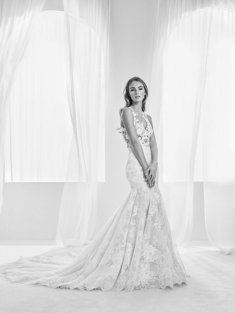Randa gown from the 2018 Pronovias Atelier collection, as seen on dressfinder.ca