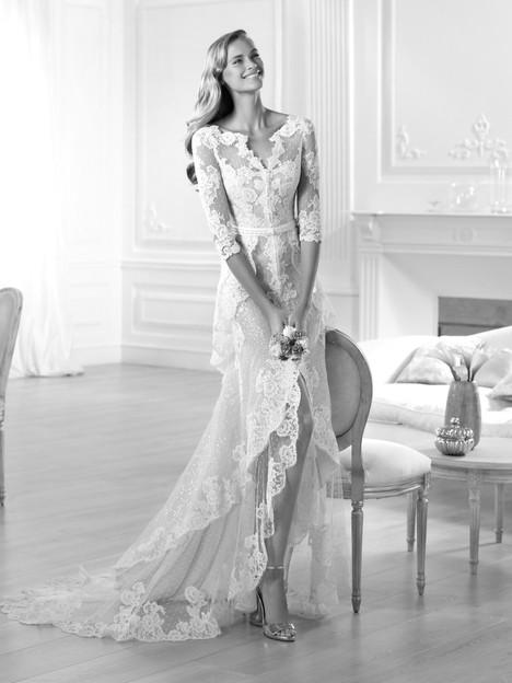 Yaela Wedding                                          dress by Pronovias Atelier