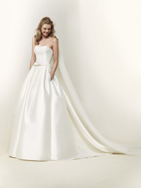 Draboe Wedding                                          dress by Pronovias