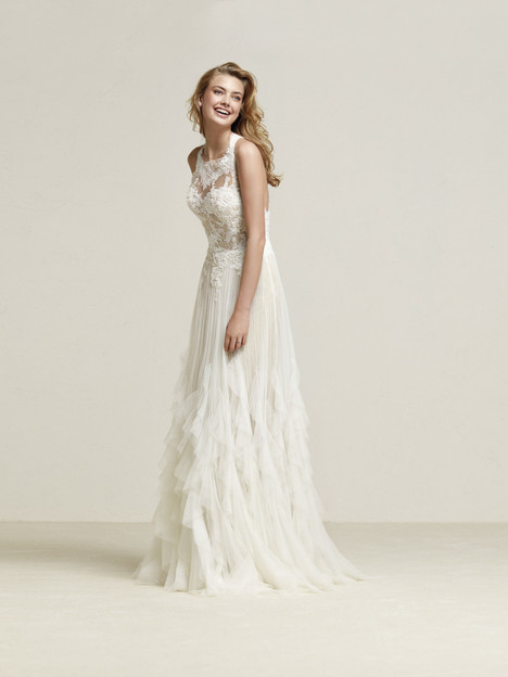 Draconia Wedding                                          dress by Pronovias