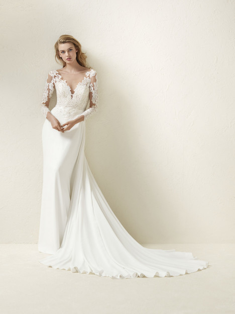 Dramae Wedding                                          dress by Pronovias