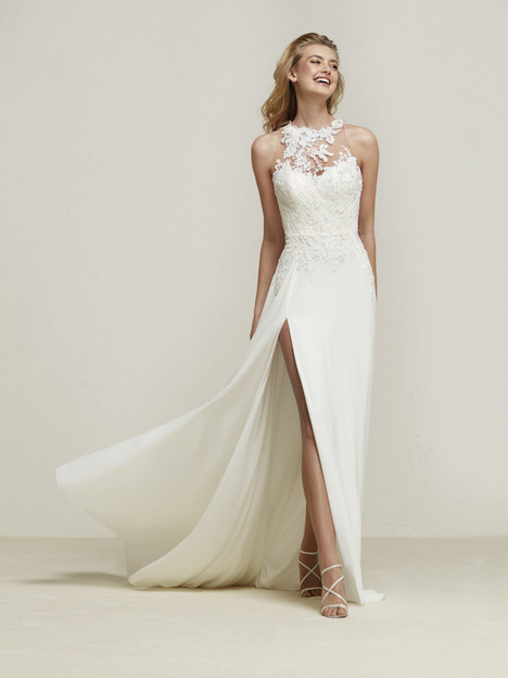 Dramis Wedding                                          dress by Pronovias