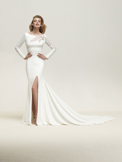Draque Wedding                                          dress by Pronovias