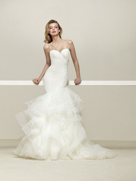 Drema Wedding                                          dress by Pronovias