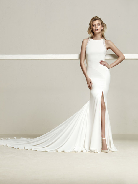 Drenea Wedding                                          dress by Pronovias