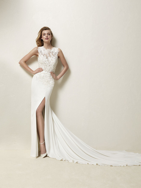 Drenina Wedding                                          dress by Pronovias
