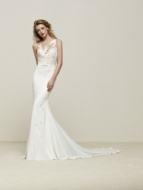 Drenoa Wedding                                          dress by Pronovias