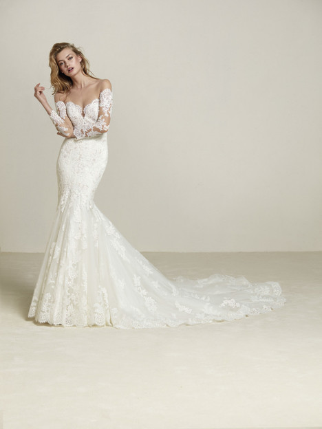 Drilia Wedding                                          dress by Pronovias