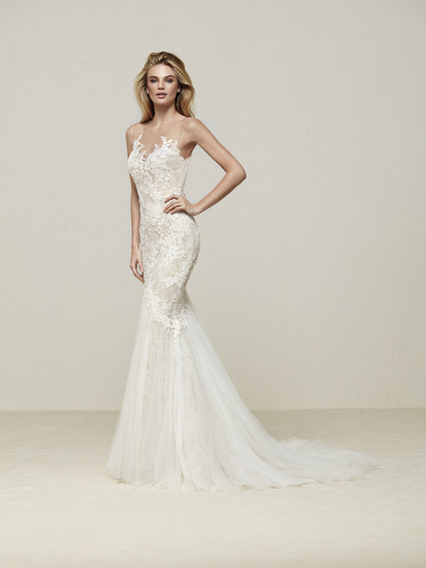 Drinam Wedding                                          dress by Pronovias