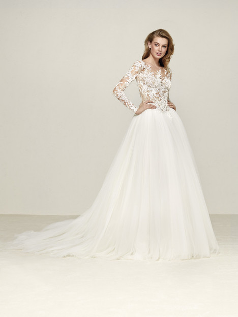 Dropal Wedding                                          dress by Pronovias