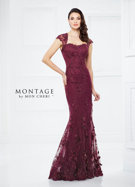 217934 (merlot) Mother of the Bride                              dress by Montage by Mon Cheri