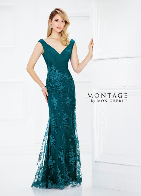 217936 (teal) Mother of the Bride                              dress by Montage by Mon Cheri