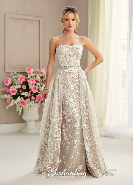 217125 (2) Wedding                                          dress by Enchanting by Mon Cheri