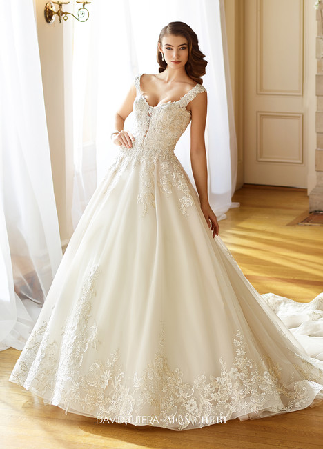 Anna (217202) Wedding                                          dress by Martin Thornburg for Mon Cheri