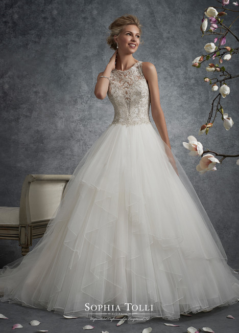 Aquila (Y21745) gown from the 2017 Sophia Tolli collection, as seen on dressfinder.ca