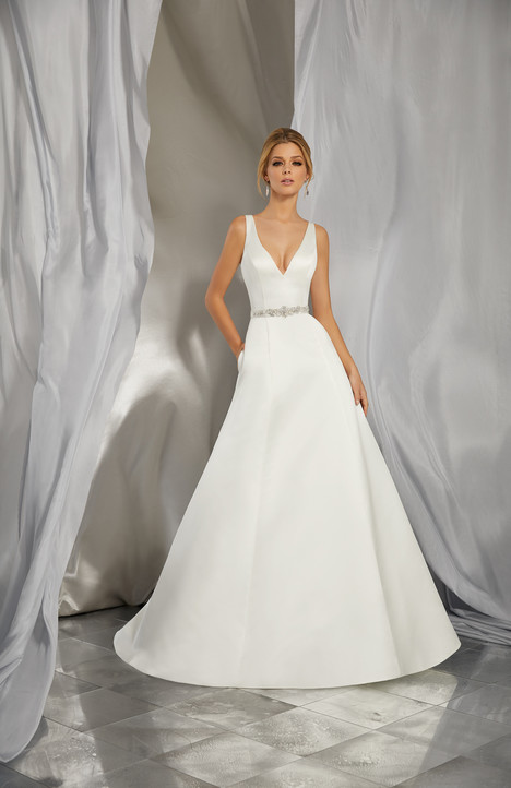 6862 Wedding                                          dress by Mori Lee: Voyage